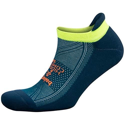 Balega Hidden Comfort No-Show Running Socks for Men and Women (1 Pair), Legion Blue/Teal, X-Large