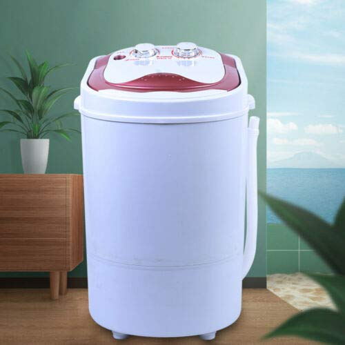 Washing Machine Portable Mini Washing Machine Single Tub Portable Washer with Spin Dryer Function for Camping Dorms Apartments College Rooms
