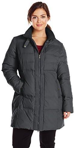 Larry Levine Max 77% OFF Women's Plus-Size Down Figure-Flattering Purchase Coat