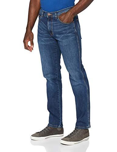 Wrangler Herren Straight Jeans ARIZONA-W12O3339E, Blau (Burnt Blue 39E), 38W / 32L