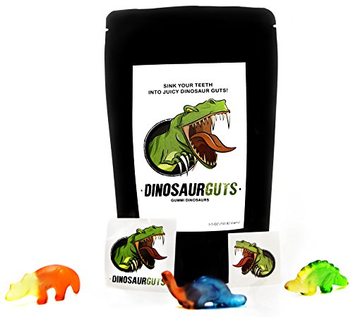 Dinosaur Guts Gummies Funny Christmas for Teens, Girls, Boys and Kids Candy Gag Stocking Stuffer Gift