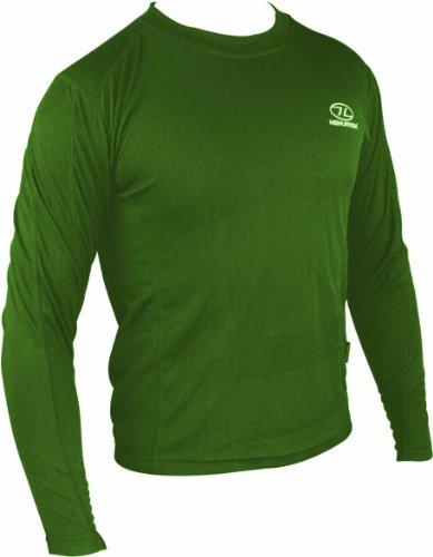 Highlander Climate X sous-Pull à Manches Longues pour Homme L Vert - Vert Olive