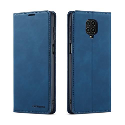 Funda telefónica para Xiaomi For Xiaomi redmi Nota 9S / Nota de 9 Pro / Nota 9 del cuero del tirón Magnetismo Horizontal Pro Max sueño de la serie de aceite Borde fuerte con el sostenedor y ranuras fo