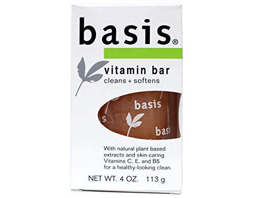 Basis Vitamin Enriched Cleansing Bar for Face & Body-4, oz. (Pack of 9) [Misc.]