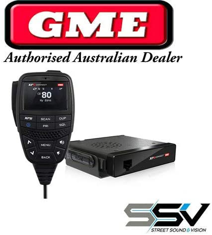 GME XRS Connect XRS-370C 5 WATT 80 Channel Bluetooth UHF Radio GME Direct Dealer