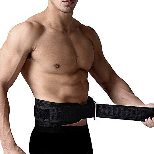 Cinturon para Levantamiento de Pesas Negro Talla Mediana