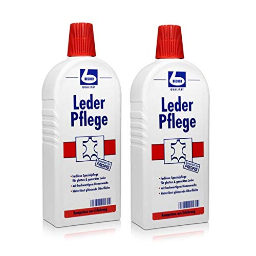 2x Dr. Becher Leder Pflege 500 ml