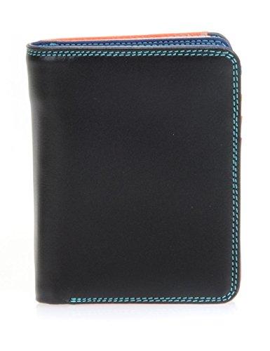 Mywalit - leder damen Geldbörse - Medium wallet w/zip around purse - 231-4 black pace