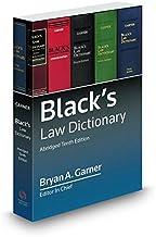 Black's Law Dictionary, Abridged, 10th Edition PDF