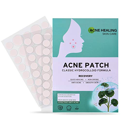 Acne Pimple Healing Patch - Absorbing Cover, Invisible, Blemish Spot, Hydrocolloid Acne Pimple Patch Spot Treatment for Face, Skin Treatment, Facial Stickers, Three Sizes, Blends in with skin