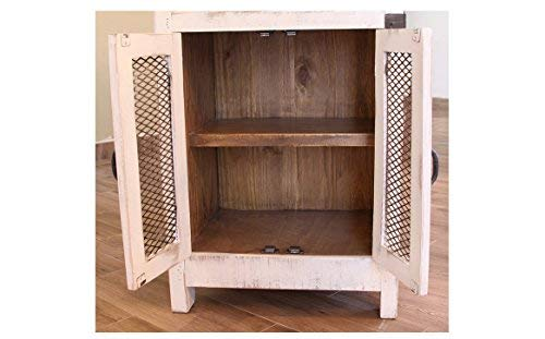 Crafters-and-Weavers-Greenview-3-Drawer-Kitchen-Island-w2-sliding-doors-2-Mesh-doors-Kitchen-Counter
