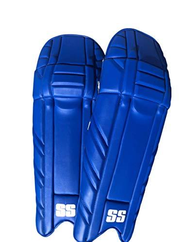 SS Cricket Maxlite Premium Batting Leg Guards - Men's Size (Royal Blue)