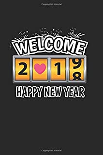 Diabetes Log Book: New Year 2019 New Years Eve Firework Party Gift 120 Pages, 59 Weeks, 6X9 Inches, Blood Sugar & Hyperten...