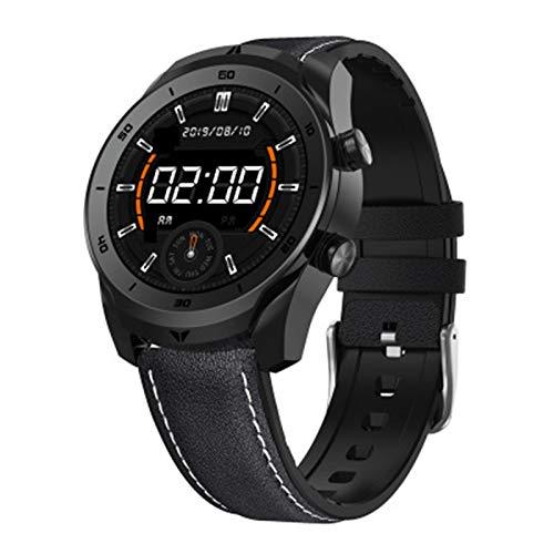 YYZ DT79 Súper Retina Pantalla Smart Reloj Corazón Fitness Tracker Pulsera Monitoreo de la presión Arterial Muñeca Pulsera Impermeable Gestión de la Salud,B