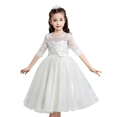 Xiao Jian Performance kleding voor kinderen meisjes avondjurk lente- en zomerjurk voor kinderen bruiloft meisjes pettishirt grote kinderen host performance C