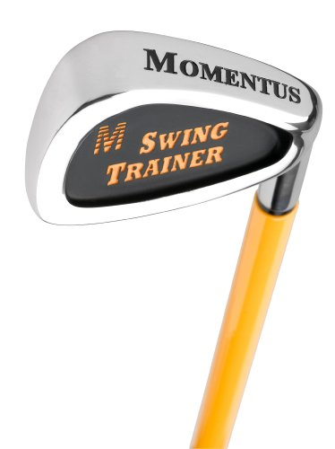 Best Deals! Momentus Signature Swing Trainer Iron with Training Grip