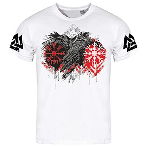 Männer T-Shirt Odins Raben