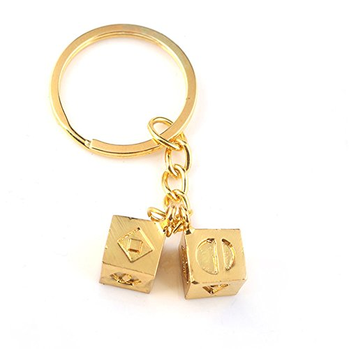 Han Solo Lucky Dice - Colgante oro disfraz cosplay