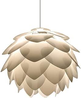 Tlinksy Danish Pine Cone Chandelier Nordic Simple Acrylic Pendant Light Living Room Dining Room Study,32CM