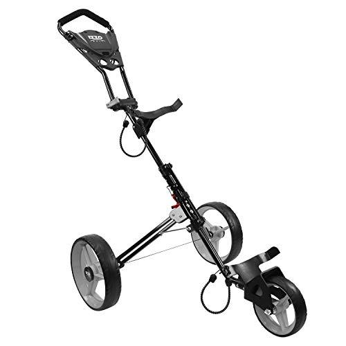 IZZO Rover II Push Cart -Gray