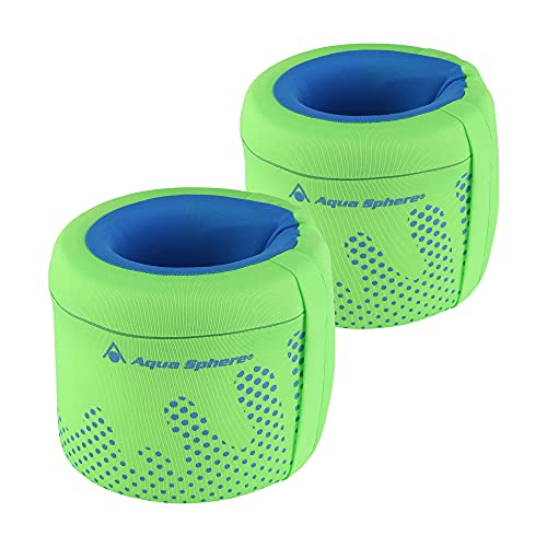 Aqua Sphere Kids Arm Floats for Beginners, Bright Green + Blue - Large, Target...