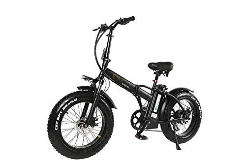 XXCY Shengmilo Fat Pneu vélo électrique Snow ebike 500W 15AH (Noir)