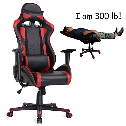 AuAg Ergonomic Gaming Chair Racing Style...