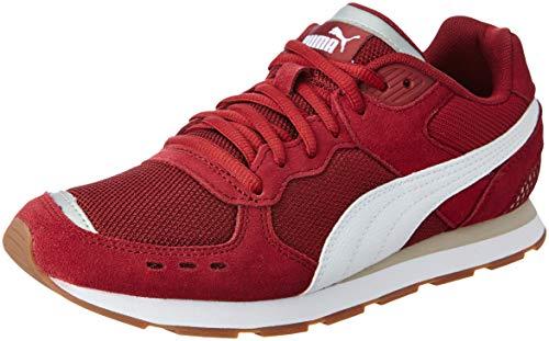 Puma Unisex-Erwachsene Vista Fitnessschuhe, Rot (Cordovan-Puma White-Silver Gray), 44 EU