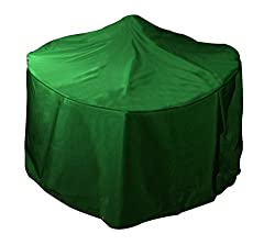 Bosmere Small Round Fire Pit Cover - Green