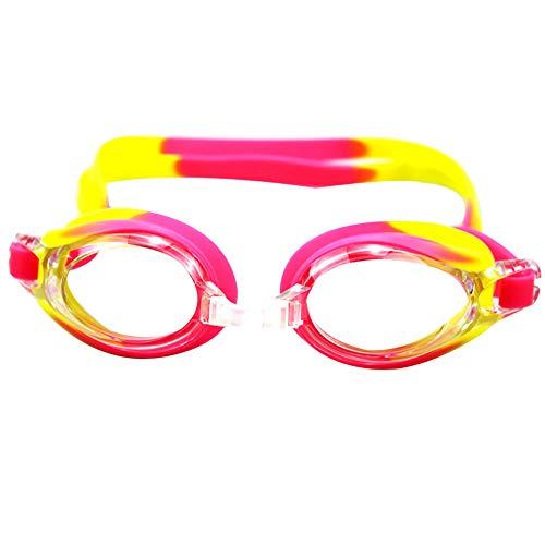 Yosemite Anti-Niebla Impermeable Unisex Gafas De Natación/Buceo Gafas Ajustables Gafas para Adultos Hombres Mujeres Jóvenes Rosa Rojo Amarillo