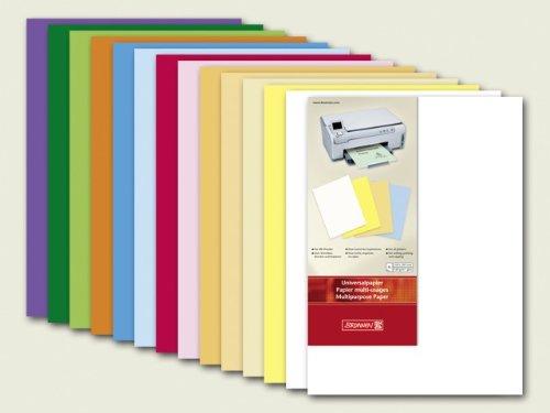 Brunnen 105122507 Universalpapier, A4, 25 Blatt, 160 g/m², perlweiß