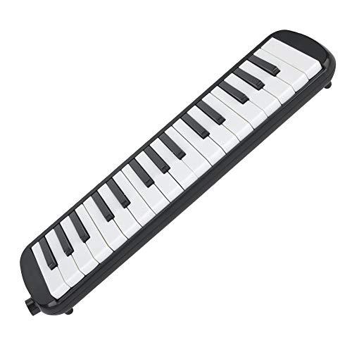 Muziekcadeau 16,5 * 3,9 * 1,8 inch met lang/kort mondstuk pianotoetsen Melodica voor spelen en leren lesmateriaal voor kinderen en volwassenen
