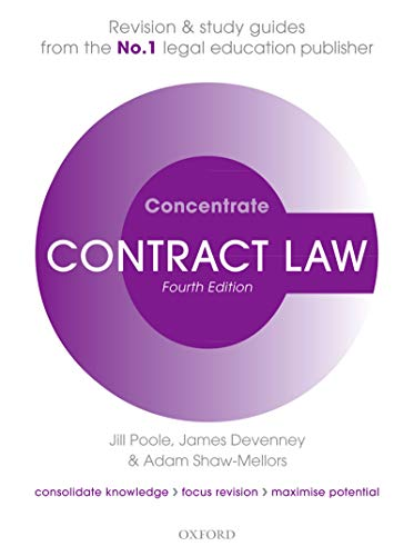 Contract Law Concentrate: Law Revision and Study Guide (English Edition)