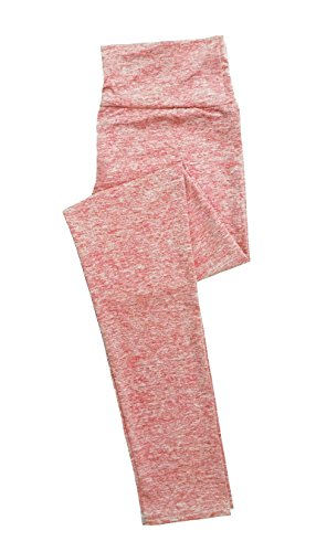 Stay Dry Basics Easy Fit Active Yoga Leggings Solid Peach S