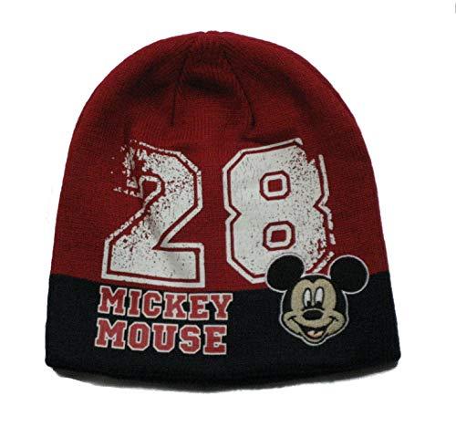 Disney Mickey Mouse Winter Mütze rot, Gr. 52