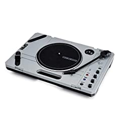 The ultimate portable turntable --featuring Bluetooth Audio Streaming technology to wirelessly stream music Integrated speaker and versatile connection capability Includes a 7-inch slipmat and exclusive 7-inch scratch vinyl containing specially maste...