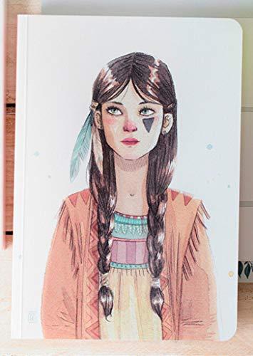 Cuquiland CEGT - Cuaderno con diseño Esther Gili Tigrilla, 16.5 x 23.5 cm