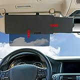 TFY Car Visor Sunshade Extender Car Visor Extender Sunshade With one See Through Piece downwardCar Visor Sunshade Extender Car Visor Extender Sunshade With one See Through Piece downward