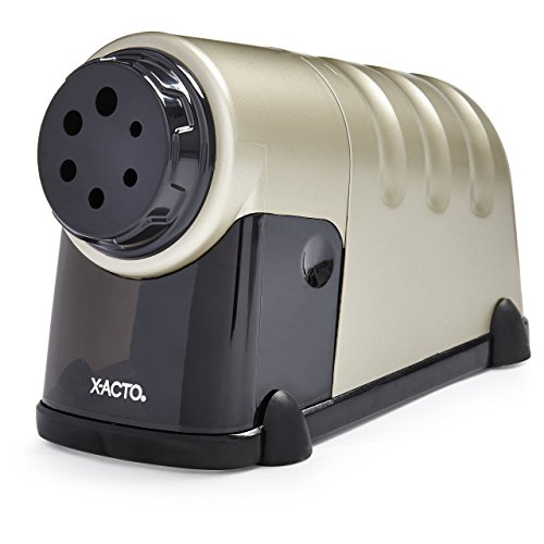 X-ACTO 1606 High Volume Commercial Electric Pencil Sharpener, Model 41, Beige