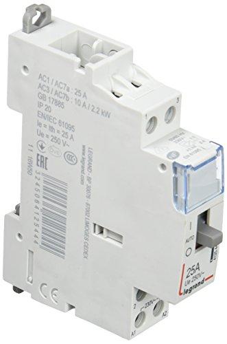 Legrand 412544 CX3 BTICINO / interrupteur, 2 NA 230 V Installation, 25