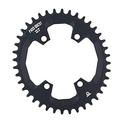 LITOSM Monoplato MTB,Plato de Bicicleta 96BCD MTB Caining Ancho Estrecho/Anillo de Cadena 32T-42T Bicicleta BICICLETE CHEQUESHE/CANKSET DE LA Rueda DE LA Cadena (Color : 32T)
