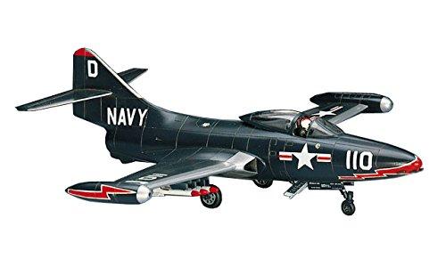 ハセガワ 1/72 アメリカ海軍 F9F-2 パンサー プラモデル B12