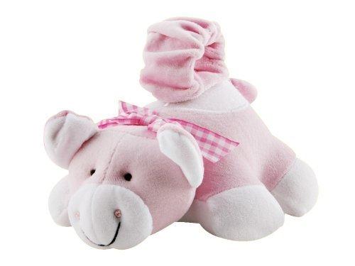 Bottle Snugglers Feeding Time Helpers - Adorable Pinky Pig by Bottle Snugglers