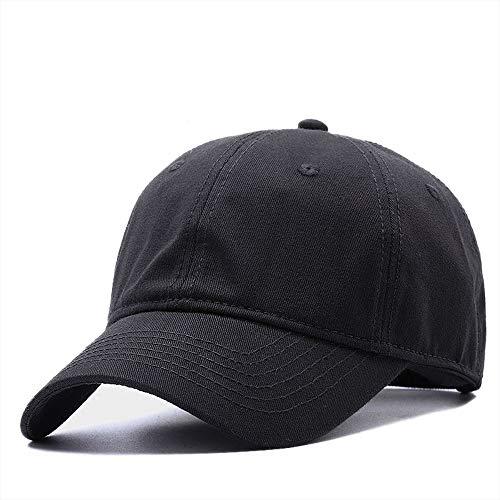 NXMRN Cappellino da Baseball Berretto da Baseball da Uomo in Cotone Taglie Forti Uomo Cappello da Sole Estivo in Poliestere da Uomo Cappelli Snapback di Grandi Dimensioni M 55-60cm L 60-65cm-polieste
