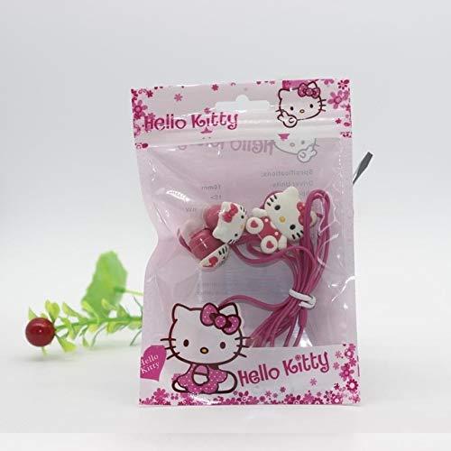 Dibujos Animados Hello Kitty 35mm Jack Música Auriculares Teléfono Auriculares Auriculares Lindos Regalos móviles Niños KT