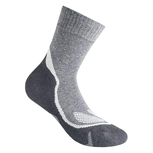 GM Hiking Chaussettes, gris, 35-37