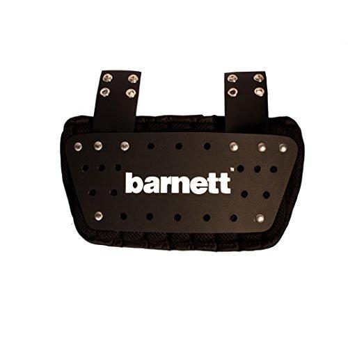 BARNETT B01 American Football Rückenschützer, Farbe schwarz, Einheitsgröße