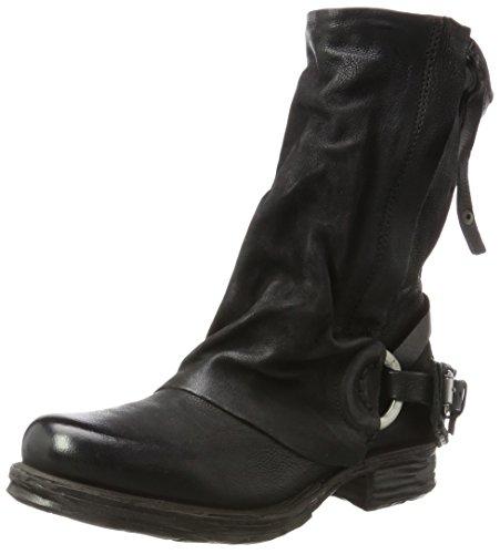 A.S.98 Damen Saintec Biker Boots, Schwarz (Nero), 36 EU
