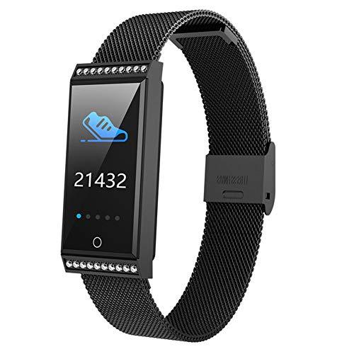 Intelligent fitness hartslagmeter tracker horloge IP68 waterdichte sportarmband kleurenscherm stappenteller slaapmonitoring multifunctioneel buitensporthorloge