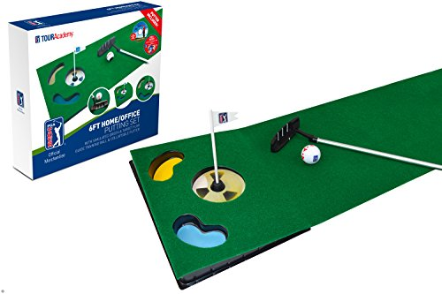 PGA Tour Indoor Putting Set – Putting Matte mit Putter